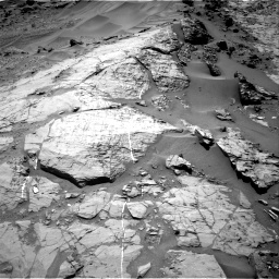Nasa's Mars rover Curiosity acquired this image using its Right Navigation Camera on Sol 1276, at drive 1068, site number 53
