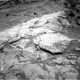 Nasa's Mars rover Curiosity acquired this image using its Right Navigation Camera on Sol 1276, at drive 1074, site number 53