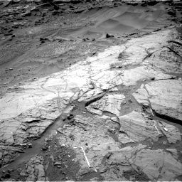 Nasa's Mars rover Curiosity acquired this image using its Right Navigation Camera on Sol 1276, at drive 1080, site number 53
