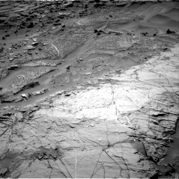 Nasa's Mars rover Curiosity acquired this image using its Right Navigation Camera on Sol 1276, at drive 1092, site number 53