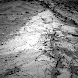 Nasa's Mars rover Curiosity acquired this image using its Right Navigation Camera on Sol 1276, at drive 1122, site number 53