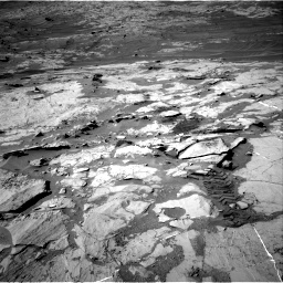 Nasa's Mars rover Curiosity acquired this image using its Right Navigation Camera on Sol 1276, at drive 1152, site number 53