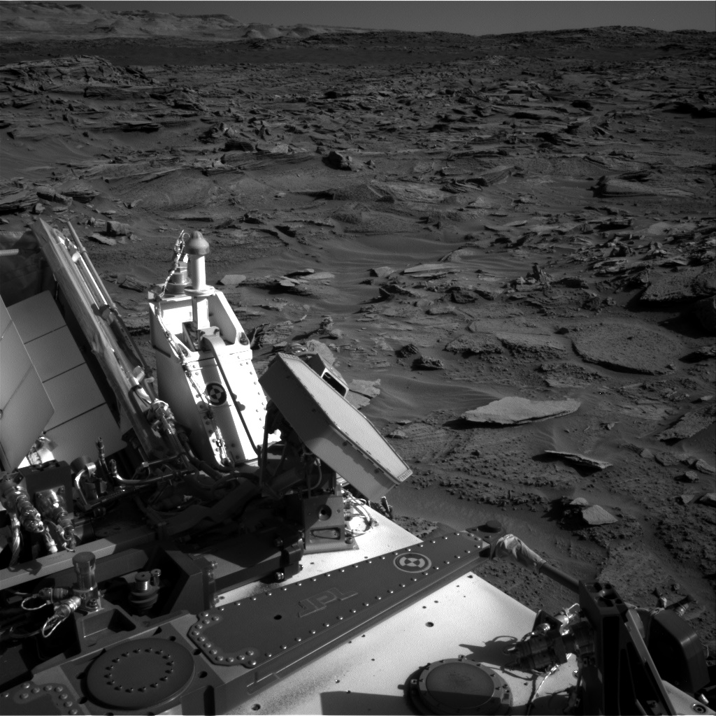 Nasa's Mars rover Curiosity acquired this image using its Right Navigation Camera on Sol 1276, at drive 1182, site number 53