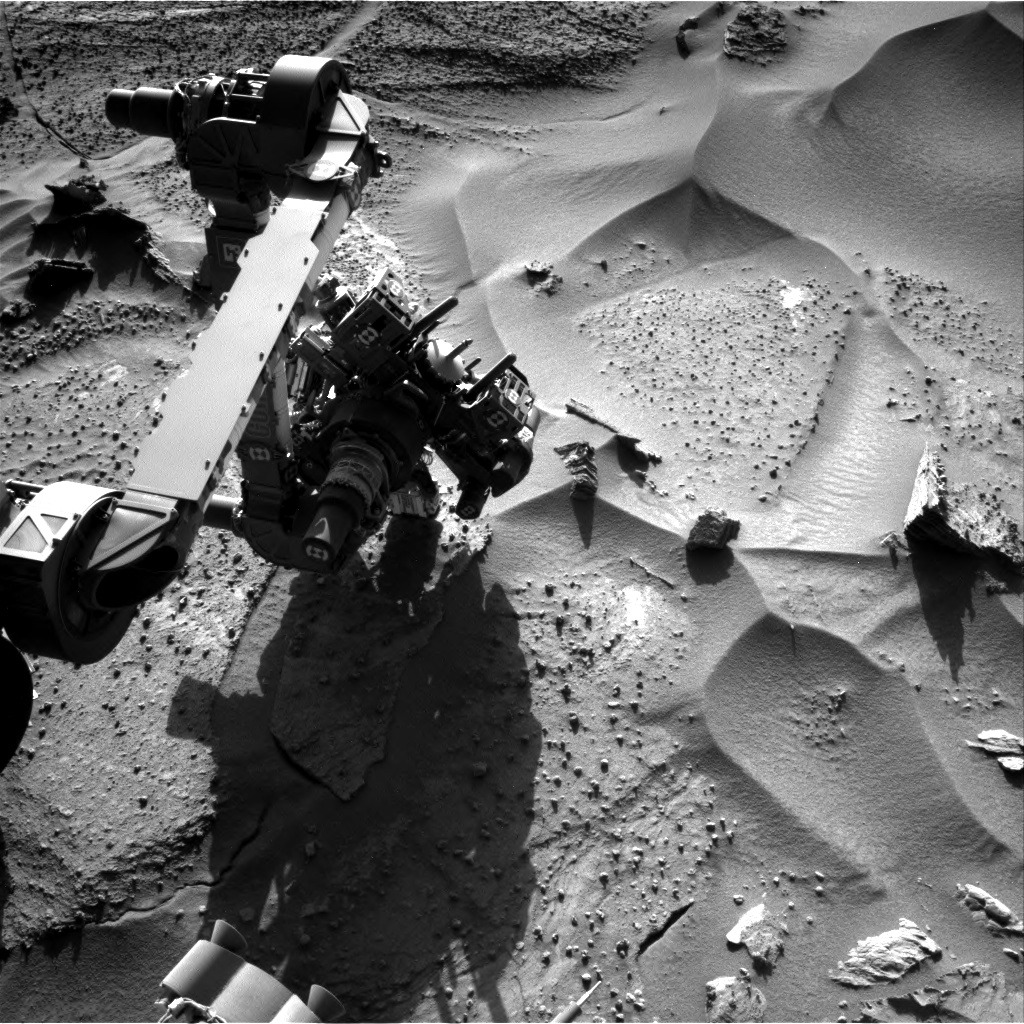 Nasa's Mars rover Curiosity acquired this image using its Right Navigation Camera on Sol 1277, at drive 1182, site number 53