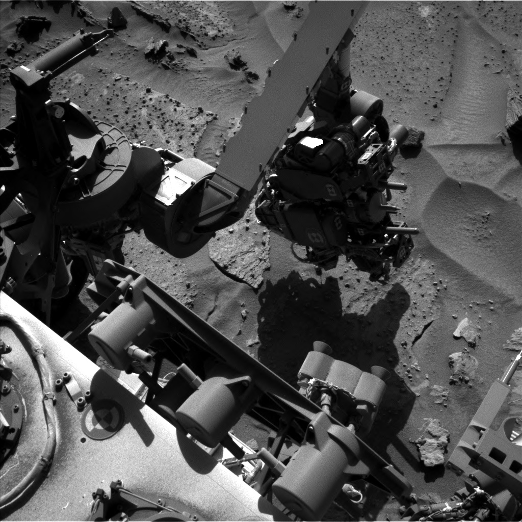 Nasa's Mars rover Curiosity acquired this image using its Left Navigation Camera on Sol 1278, at drive 1182, site number 53