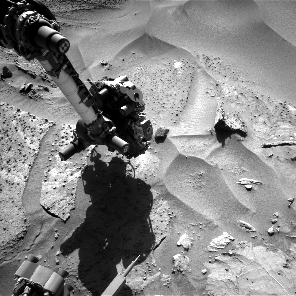 Nasa's Mars rover Curiosity acquired this image using its Right Navigation Camera on Sol 1278, at drive 1182, site number 53
