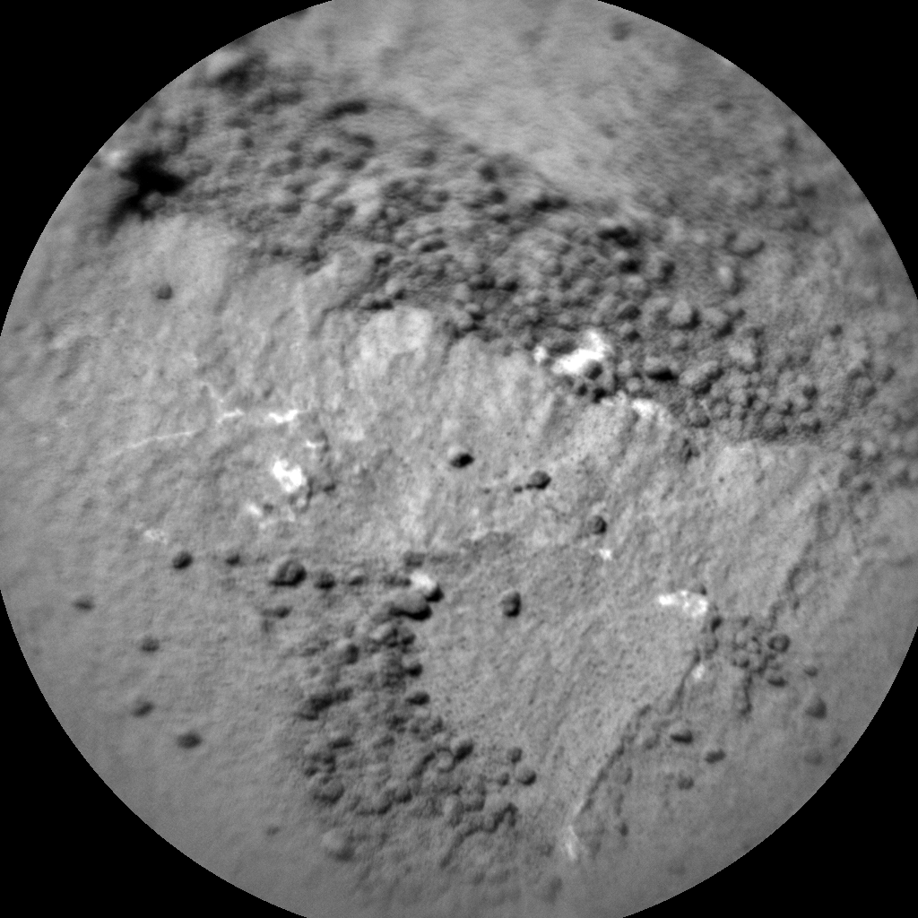 Nasa's Mars rover Curiosity acquired this image using its Chemistry & Camera (ChemCam) on Sol 1278, at drive 1182, site number 53