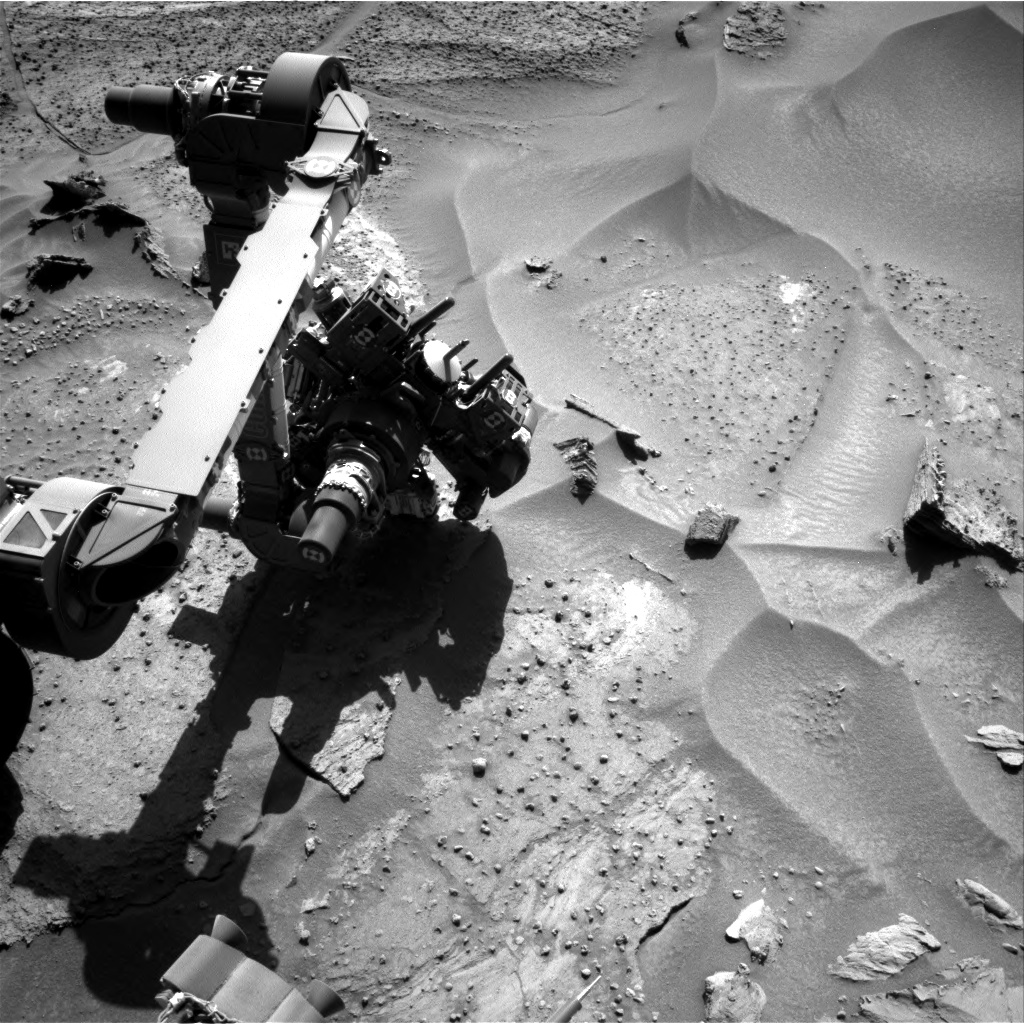 Nasa's Mars rover Curiosity acquired this image using its Right Navigation Camera on Sol 1279, at drive 1182, site number 53
