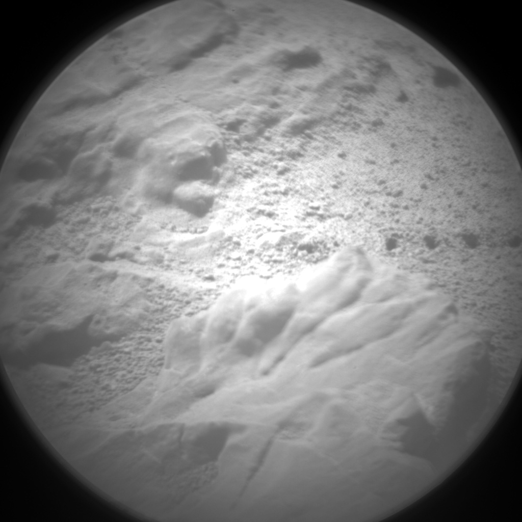 Nasa's Mars rover Curiosity acquired this image using its Chemistry & Camera (ChemCam) on Sol 1280, at drive 1182, site number 53