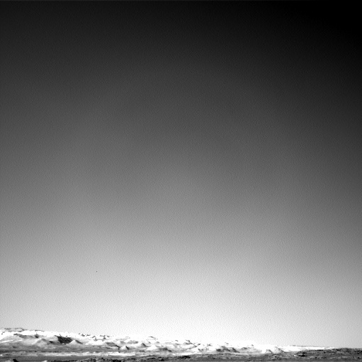 NASA's Mars rover Curiosity acquired this image using its Left Navigation Camera (Navcams) on Sol 1280