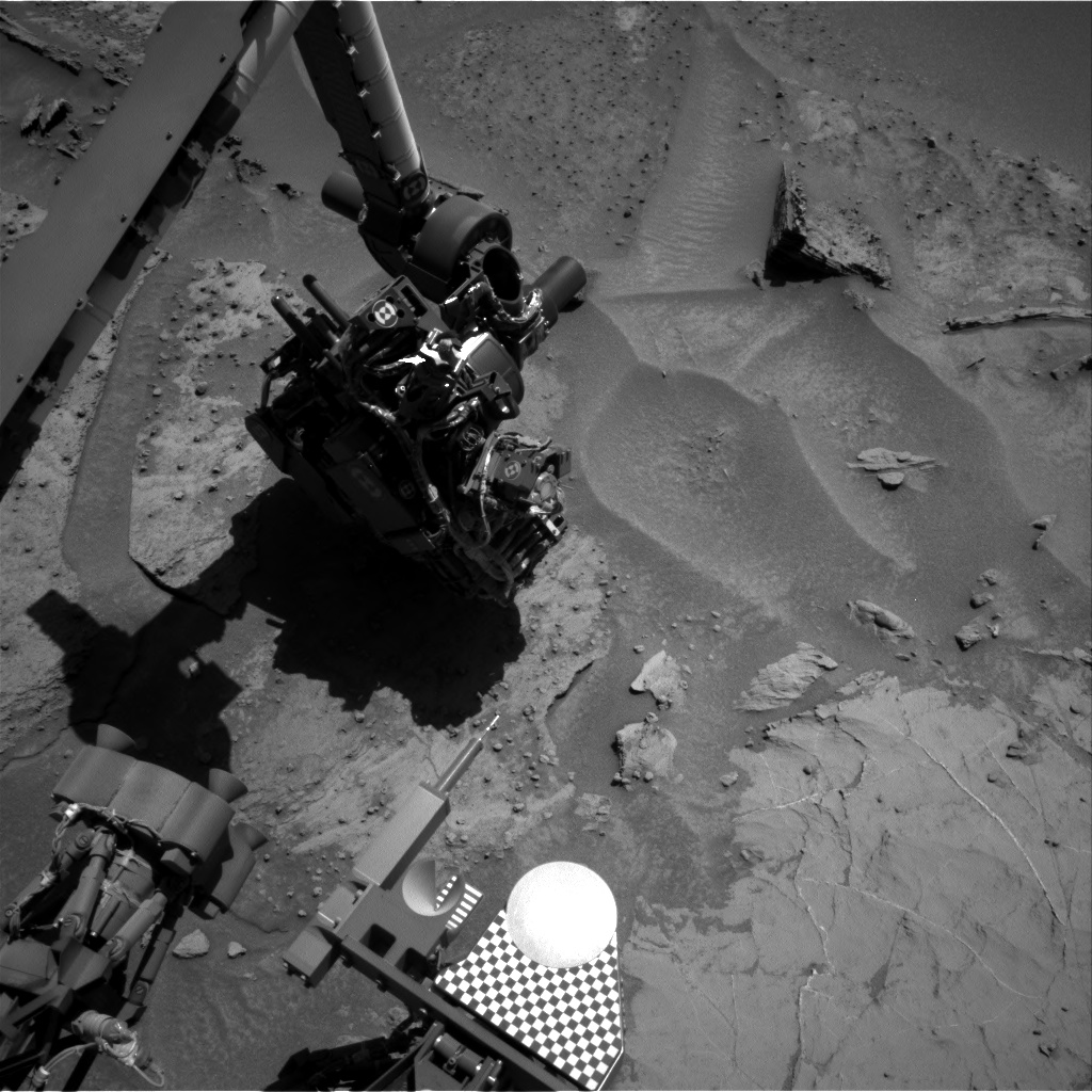 Nasa's Mars rover Curiosity acquired this image using its Right Navigation Camera on Sol 1280, at drive 1182, site number 53