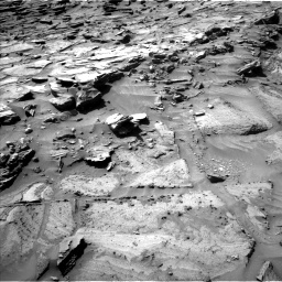 Nasa's Mars rover Curiosity acquired this image using its Left Navigation Camera on Sol 1281, at drive 1254, site number 53