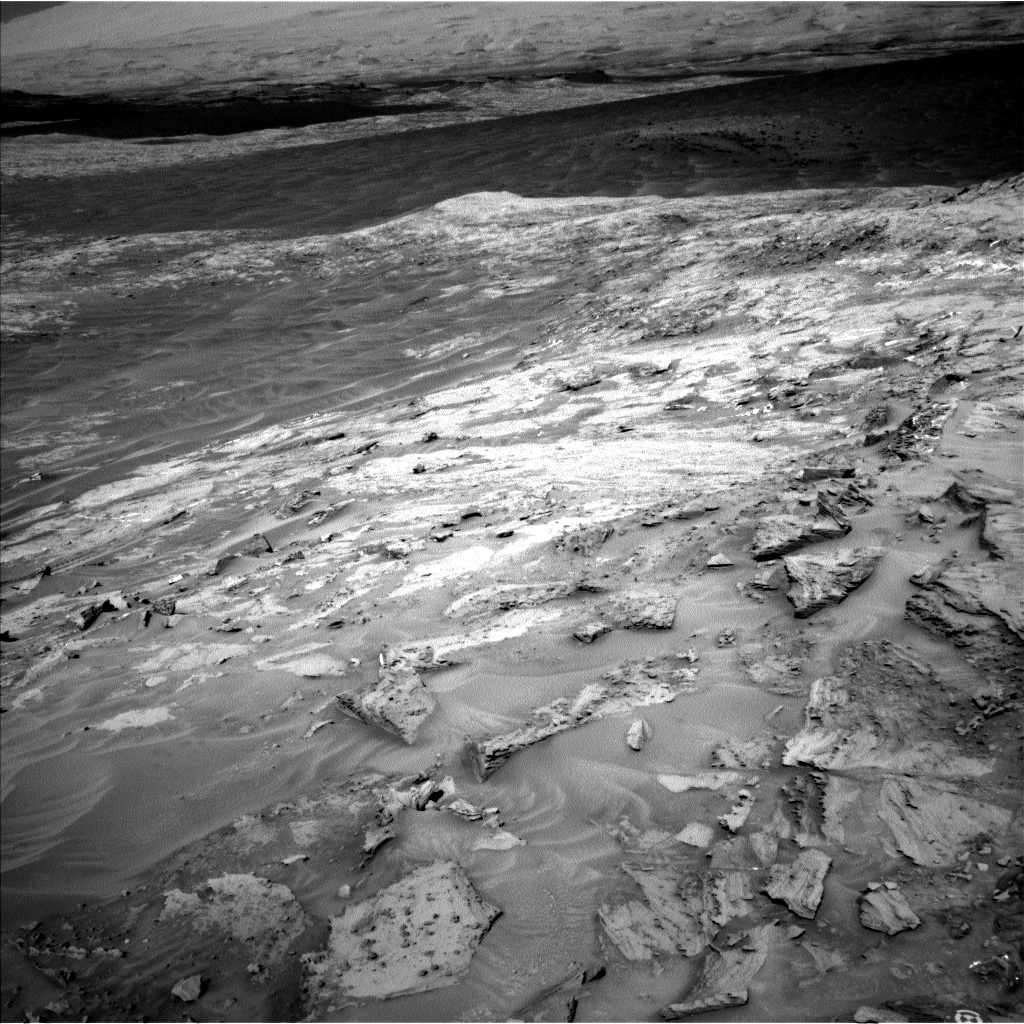 Nasa's Mars rover Curiosity acquired this image using its Left Navigation Camera on Sol 1281, at drive 1284, site number 53