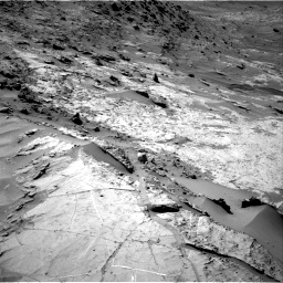 Nasa's Mars rover Curiosity acquired this image using its Right Navigation Camera on Sol 1281, at drive 1182, site number 53