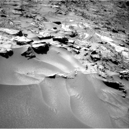 Nasa's Mars rover Curiosity acquired this image using its Right Navigation Camera on Sol 1281, at drive 1206, site number 53