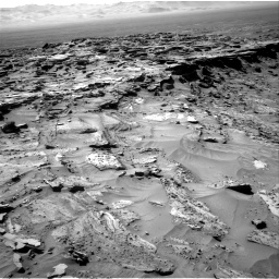Nasa's Mars rover Curiosity acquired this image using its Right Navigation Camera on Sol 1281, at drive 1230, site number 53