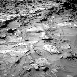 Nasa's Mars rover Curiosity acquired this image using its Right Navigation Camera on Sol 1281, at drive 1242, site number 53