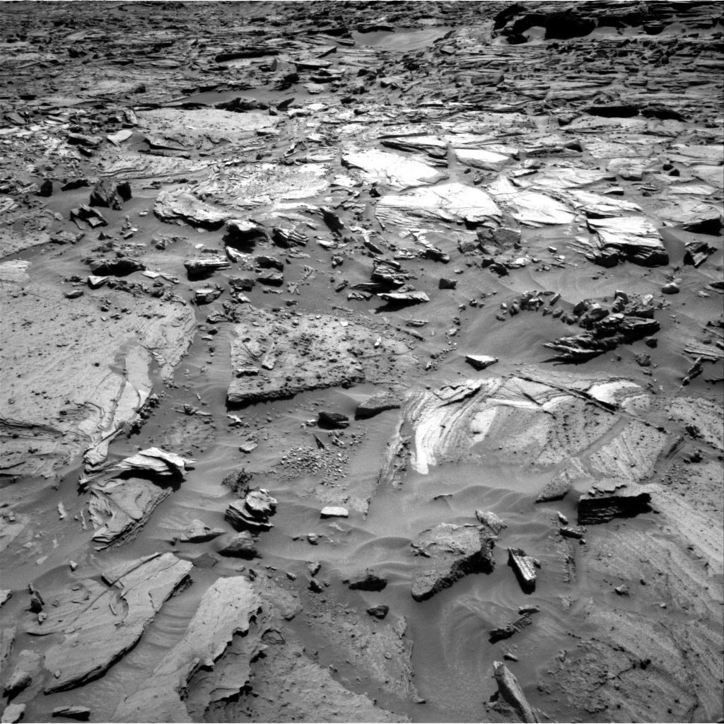 Nasa's Mars rover Curiosity acquired this image using its Right Navigation Camera on Sol 1281, at drive 1248, site number 53