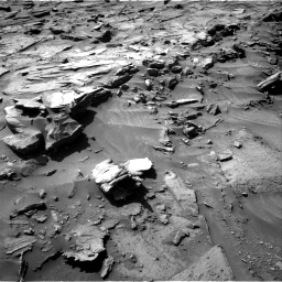 Nasa's Mars rover Curiosity acquired this image using its Right Navigation Camera on Sol 1281, at drive 1266, site number 53