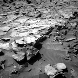 Nasa's Mars rover Curiosity acquired this image using its Right Navigation Camera on Sol 1281, at drive 1272, site number 53