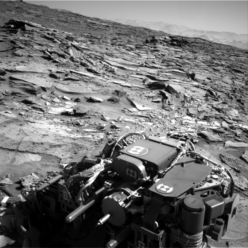 Nasa's Mars rover Curiosity acquired this image using its Right Navigation Camera on Sol 1281, at drive 1284, site number 53