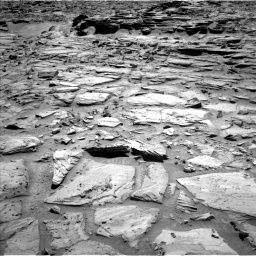 Nasa's Mars rover Curiosity acquired this image using its Left Navigation Camera on Sol 1282, at drive 1296, site number 53
