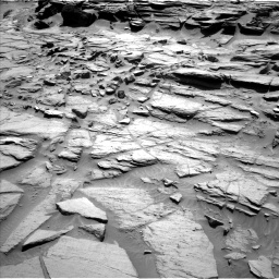 Nasa's Mars rover Curiosity acquired this image using its Left Navigation Camera on Sol 1282, at drive 1326, site number 53