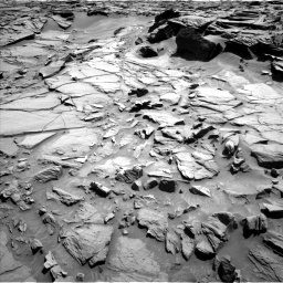 Nasa's Mars rover Curiosity acquired this image using its Left Navigation Camera on Sol 1282, at drive 1344, site number 53