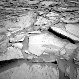 NASA's Mars rover Curiosity acquired this image using its Left Navigation Camera (Navcams) on Sol 1282