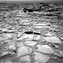 Nasa's Mars rover Curiosity acquired this image using its Right Navigation Camera on Sol 1282, at drive 1290, site number 53