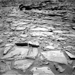 Nasa's Mars rover Curiosity acquired this image using its Right Navigation Camera on Sol 1282, at drive 1296, site number 53