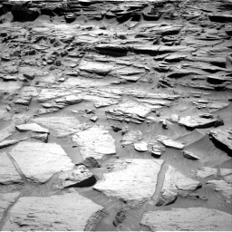 Nasa's Mars rover Curiosity acquired this image using its Right Navigation Camera on Sol 1282, at drive 1320, site number 53