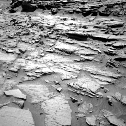 Nasa's Mars rover Curiosity acquired this image using its Right Navigation Camera on Sol 1282, at drive 1326, site number 53