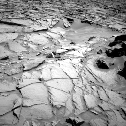 Nasa's Mars rover Curiosity acquired this image using its Right Navigation Camera on Sol 1282, at drive 1362, site number 53