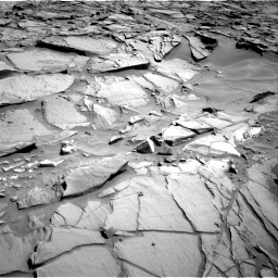 Nasa's Mars rover Curiosity acquired this image using its Right Navigation Camera on Sol 1282, at drive 1368, site number 53