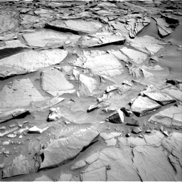 Nasa's Mars rover Curiosity acquired this image using its Right Navigation Camera on Sol 1282, at drive 1374, site number 53