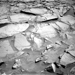 Nasa's Mars rover Curiosity acquired this image using its Right Navigation Camera on Sol 1282, at drive 1380, site number 53