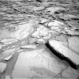 Nasa's Mars rover Curiosity acquired this image using its Right Navigation Camera on Sol 1282, at drive 1404, site number 53