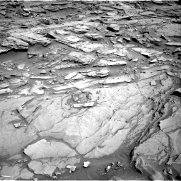 Nasa's Mars rover Curiosity acquired this image using its Right Navigation Camera on Sol 1282, at drive 1422, site number 53