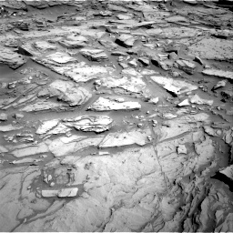 Nasa's Mars rover Curiosity acquired this image using its Right Navigation Camera on Sol 1282, at drive 1428, site number 53