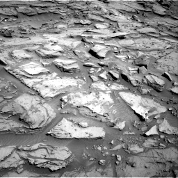 Nasa's Mars rover Curiosity acquired this image using its Right Navigation Camera on Sol 1282, at drive 1440, site number 53