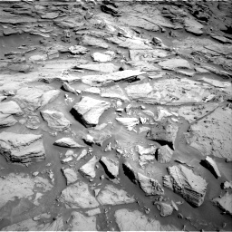 Nasa's Mars rover Curiosity acquired this image using its Right Navigation Camera on Sol 1282, at drive 1452, site number 53