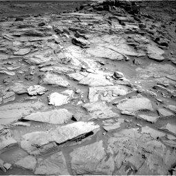 Nasa's Mars rover Curiosity acquired this image using its Right Navigation Camera on Sol 1282, at drive 1464, site number 53