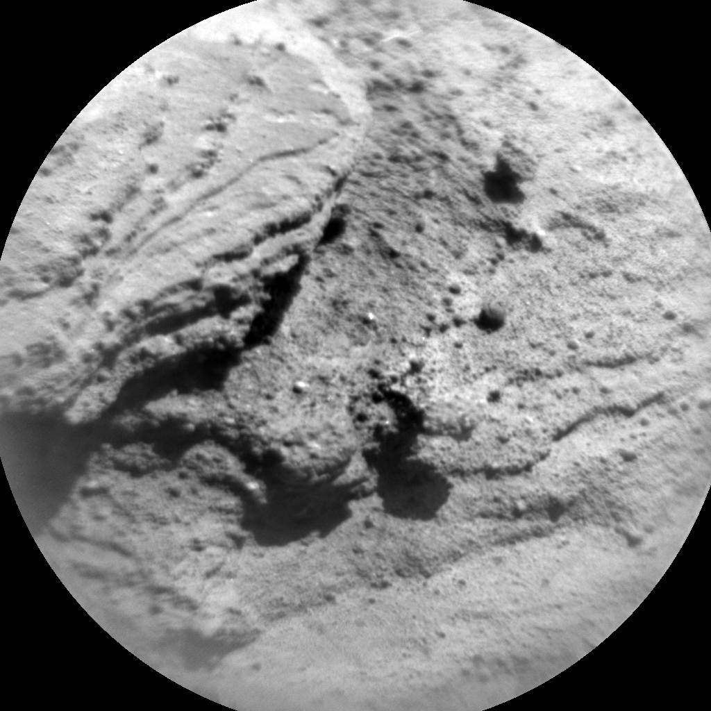 Nasa's Mars rover Curiosity acquired this image using its Chemistry & Camera (ChemCam) on Sol 1282, at drive 1284, site number 53