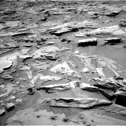 Nasa's Mars rover Curiosity acquired this image using its Left Navigation Camera on Sol 1283, at drive 1494, site number 53