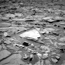 Nasa's Mars rover Curiosity acquired this image using its Left Navigation Camera on Sol 1283, at drive 1506, site number 53