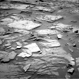 Nasa's Mars rover Curiosity acquired this image using its Left Navigation Camera on Sol 1283, at drive 1572, site number 53