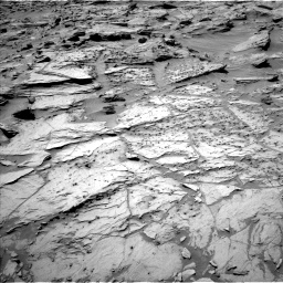 Nasa's Mars rover Curiosity acquired this image using its Left Navigation Camera on Sol 1283, at drive 1632, site number 53