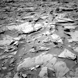 NASA's Mars rover Curiosity acquired this image using its Left Navigation Camera (Navcams) on Sol 1283