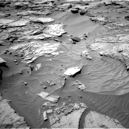 Nasa's Mars rover Curiosity acquired this image using its Left Navigation Camera on Sol 1283, at drive 1692, site number 53